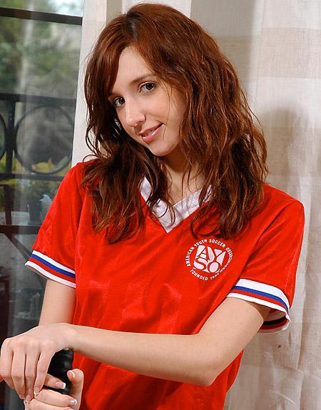 Redhead Katie Jordin