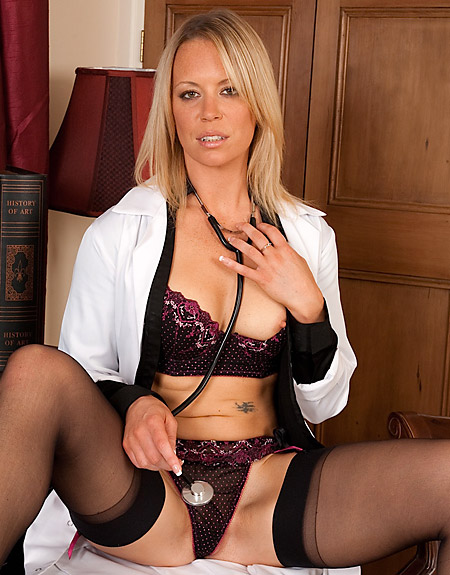 Naughty Doctor Kimberly Exposed
